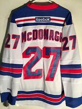 Reebok Premier NHL Jersey New York Rangers Ryan McDonagh White sz L
