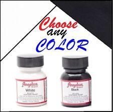Angelus Acrylic Leather Paint 1oz Sneakers Boots Handbags Shoes Jackets Belts
