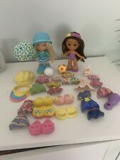 fisher price snap n style dolls Soccer Rainy Days Lot