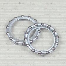 """KUGELRING 2 Stück Durchmesser Kugel Ø 5/32"""" = 3,95 mm - Ø Kugelring 36,6 mm"""