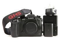 Panasonic Lumix GH5 Mirrorless ILC Camera - Body Only + 4K + WiFi + 3,975 Shots