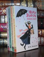 Mary Poppins by P. Travers Illustrated Paperback New Sealed Boxed Deluxe Set