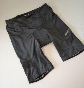 Baleaf Women's Cycling Shorts Size L Large Padded Nylon/Spandex Side Pockets NWT