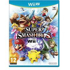 Nintendo Super Smash Bros Para Nintendo Wii U Consola De Juegos (Brand New Reino Unido Pal)
