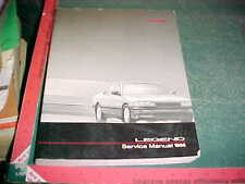1986 HONDA ACURA LEGEND FACTORY PRINT SERVICE MANUAL