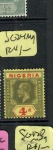 NIGERIA (P1609B)  KGV   4D    SG 24      MOG