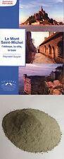 Guide sur le Mont Saint Michel, dédicacé par l'auteur + 85g sable de la baie