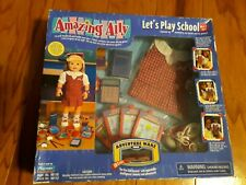 """New Amazing Ally Playmates Interactive Doll """"Let's Play School"""" Play Set 98110"""
