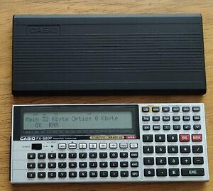 Casio FX 880P Scientific Calculator Personal Pocket Computer FX880P