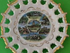 Small Vintage Souvenir Plate GETTYSBURG, Pennsylvania