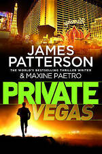 PRIVATE VEGAS by JAMES PATTERSON, MAXINE PAETRO (Paperback 2015) VERY GOOD COND.