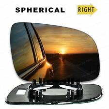 Right side wide angle wing mirror glass for VW Polo 2000-2002 14.5cm