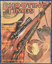 Vinatge Magazine SHOOTING TIMES, October 1967 ! Build Your Own Kentucky Rifle !