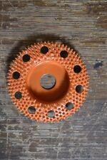 "Saburr-Tooth SD290H 2"" Disc Wheel Flat Face W/ Holes (Ex-Coarse Grit) Orange"
