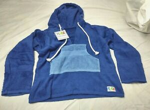 Original Ragz Dark Blue Swim Sweat Towel Cover up Sz Youth/Child Sm Hoodie NWTs