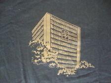 Vintage Dr. Pepper 7 Up Building Dallas Texas Soda Pop T Shirt Adult Size L