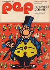 PEP 1970  nr. 34 - OLIVIER BLUNDER (COVER) / JOOST DEN DRAAIER / VARIOUS COMICS