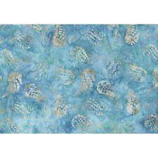 COASTAL CHIC BATIKS Seahorse Aqua Quilt Fabric Maywood Sold by 1/2 yd #B27-011
