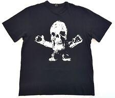 Vintage Chrome Hearts Foti Skull Tee Black Size XL Mens T Shirt