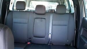 FORD RANGER 2ND SEAT (REAR SEAT) DUAL CAB, PX, CLOTH, XLT, 06/15- BLACK WITH TRI