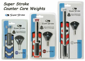 NEW Authentic SuperStroke Counter Core Putter Grip Weight Kit Choose Gram Weight