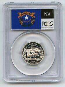 2006 S 25C Silver Nevada Quarter PCGS PR70DCAM