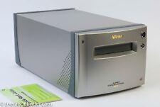 Nikon Super Coolscan 9000 ED Multi-Format Focusing scanner w/3 Holders