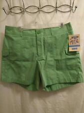 New Dockers Petite Women's Fun All Around Cotton Blend Shorts Sz 12P