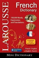 Larousse Mini Dictionary French-English/English-French (Paperback or Softback)