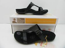 Orthaheel Molly Slide Sandal Black Snake Size 5