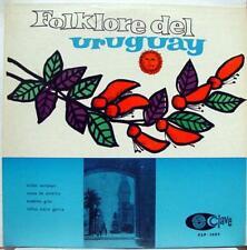 VARIOUS folklore de uruguay LP VG CLP 1007 Mono Vinyl Clave Uruguay