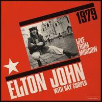 ELTON & COOPER,RAY JOHN - LIVE FROM MOSCOW  2 CD NEU