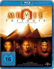 DIE MUMIE TRILOGIE (Rachel Weisz, Brendan Fraser) 3 Blu-ray Discs NEU+OVP