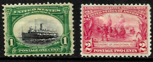 Mint Unused Sc #294 Low Boat Etc Early Commenmorative Issues US A69
