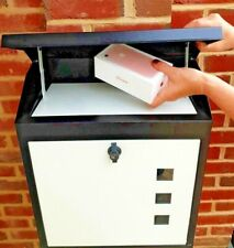 TIRED OF MISSING DELIVERIES & LOCKABLE, SECURE-  WATERPROOF PARCEL-POSTBOX
