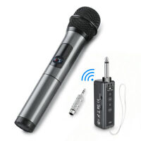 Wireless UHF bluetooth Microphone System【10 Channel】Handheld Mic WIth  ❤+