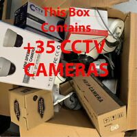 35+ CCTV Cameras IP PTZ MYSTERY GOODY BOX SPARES AND REPAIRS Wholesale kit offer