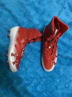 Under Armour Highlight MC 3000177-601 Football Cleats, Men's Size 8.5, Red