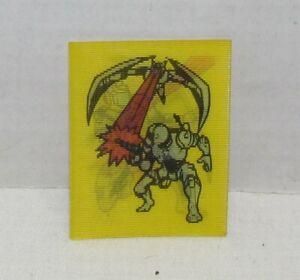 1987 Captain Power lenticular card, Canada premium, Scout Baker Shoots at Soarun
