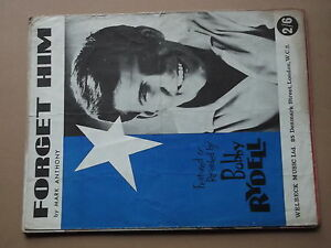 BOBBY RYDELL - FORGET HIM sheet music