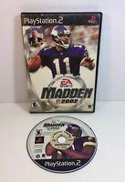 Ps2 Madden NFL 2002