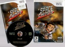 SPACE CHIMPS ~NINTENDO Wii WITH BOOKLET~ **FREE P&P**