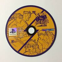 USED PS X-MEN VS. STREET FIGHTER EX EDITION Disc Only JAPAN Sony PlayStation 1