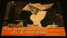 Fotobusta - Lo smemorato di Collegno di Sergio Corbucci, con Totò, E.Macario