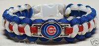 Chicago Cubs Paracord Bracelet OR Lanyard OR Key Chain 16 World Series Champions