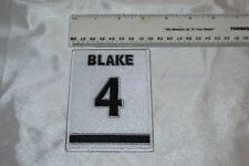 Los Angeles Kings Rob Blake #4 Retirement Patch -- Collector Patch -- NIP!