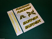 Old school bmx Custom MK1 burner style bx Stickers Decal Set