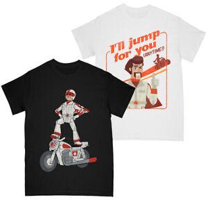 Disney Girls Toy Story 4 Duke Caboom - Duke I'll Jump For You T-shirt Multi