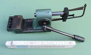 BENZING Handhebelpresse 0,75 kN Anbau Zahnstangenpresse Tisch Presse Hebelpresse