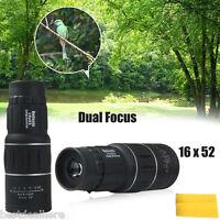 Beileshi 16 x 52 Dual Focus Zoom Optic Lens Protable 16X Monocular Telescope